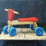 Kids Bike, oil on canvas, 61x71