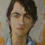 Nicholas, oil on board, 28x21.5 SOLD