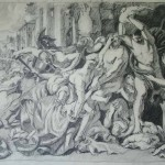 Massacre of the Innocents (after Rubens), pencil SOLD