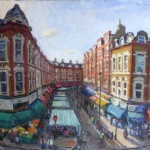 electric avenue townscape painting cree