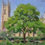 Alex Cree St Lukes Painting