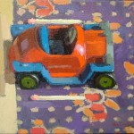 Toy Car, oil on canvas, 25x35 SOLD